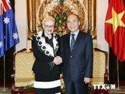 Australian Speaker welcomed in Hanoi