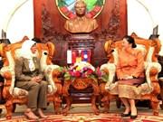 Lao, Singaporean legislative bodies bolster ties