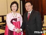 Vietnam supports peace, unification on Korean peninsula