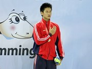 Top swimmer to carry Vietnam's flag at Asiad