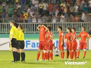 Vietnam goes down 5-0 to DPRK