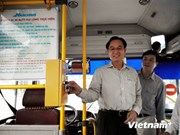 Hanoi to trial use of bus e-tickets