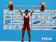 Weightlifter brings home ASIAD17 silver medal