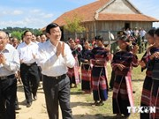 State leader embarks on fact-finding tour to Gia Lai province