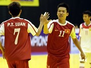 Vietnam put feet forward at ASEAN futsal semi-finals