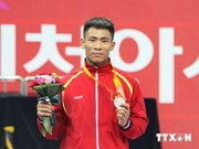 Vietnamese wushu athlete wins silver at 17th ASIAD