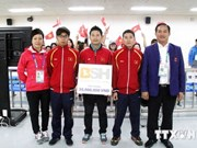 ASIAD 17: Vietnam wins two more bronze medals