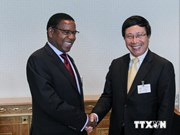 FM Pham Binh Minh meets with Finnish, Tanzanian counterparts