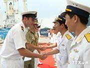 Australian naval ship visits Vietnam
