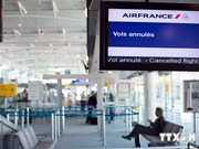 Vietnam Airlines passengers affected by Air France pilot strike