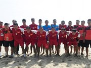 Vietnam enters AFF beach football final