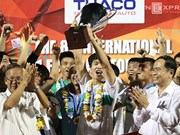 HAGL football team win U21 trophy