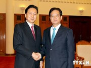 Prime Minister welcomes former Japanese PM