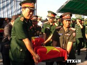 Vientiane meeting marks Vietnamese volunteer soldiers' traditional day