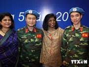 Vietnam active in global peace keeping