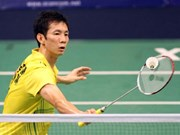 Badminton player Minh drops one place in rankings