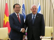 Public security minister visits Israel