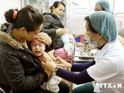 Over 4.8 million kids vaccinated against measles-rubella