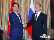 PM meets Russian, Australian counterparts