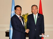 PM Nguyen Tan Dung meets with UN Secretary-General