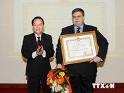 Medal awarded to Vietnam-based TASS chief representative