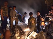 Thai army helicopter crash kills all nine