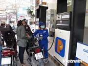 Petrolimex continues to lower fuel prices