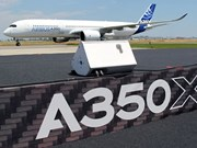 Airbus A350 XMB performs demo flight in VN
