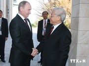 Party chief concludes Russia visit