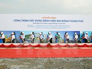 PM kickstarts construction on HCM City Children Hospital