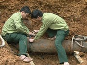 500kg bomb defused in Phu Tho province