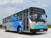 Japanese-styled bus system launched in Binh Duong