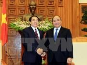Deputy PM receives Laos' provincial delegation