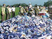 Authorities crackdown on tobacco smuggling