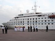 Five-star cruise ship brings tourists to Binh Dinh