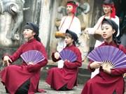 Phu Tho works to lift Xoan singing urgent safeguarding status