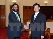 UN climate change official promises support to Vietnam