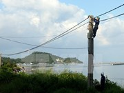Hon Tre Island connected to national power grid