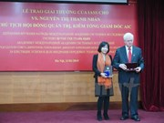 Vietnamese female scientist receives IASS awards