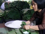 Ha Nam's trade villages busy for Tet
