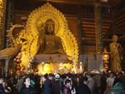 Bai Dinh Pagoda Festival in full swing