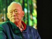 Get well wish to Singapore's Lee Kuan Yew