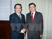 Party's external relation commission boosts ties with Laos