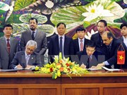 Nam Dinh: Loan agreement with Kuwait Fund signed