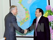 Former British PM Tony Blair visits Vietnam