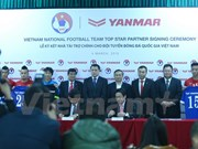 Japanese Yanmar sponsors national football teams