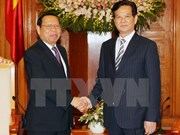 Prime Minister welcomes Cambodian Planning Minister
