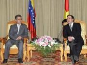 Deputy PM Hai welcomes Venezuelan Vice President