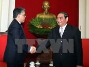 Politburo member receives Venezuelan Vice President