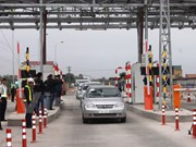 First trial electronic toll collection system launched in Quang Binh